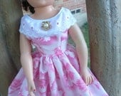 """18"""" Ideal Miss Revlon Doll Dress for Summer--Pretty in Pink"""