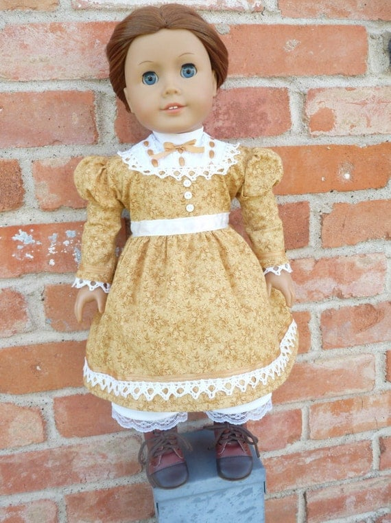 """18"""" Doll Clothes Civil War Era Historical Dress Fits American Girl Addy, Cecile, Marie Grace"""