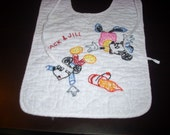 Disney Mickey and Minnie Mouse Vintage Baby Dinner Bib Jack and Jill Brand