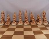 Erotic Chess Set Pieces