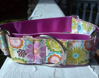 "Reilly's Blooms 1.5"" Martingale Collar"
