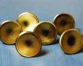 Reserved: Round Brass Drawer Pulls