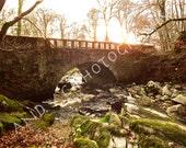 "Irish Photography - Cloughlea Bridge and River, Co. Wicklow, Ireland ( 10""x 8"" Unframed Print)"