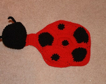 Ladybug Body Hat/Cape - Great photography prop