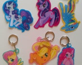 My Little Pony Friendship is Magic Keychain SET 6