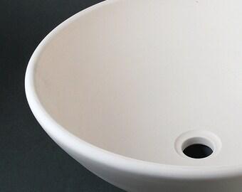 BISQUE Porcelain SINK / Vessel Style