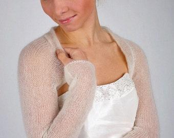 Bridal Shrug Wedding Bolero knit Jackett for your wedding dress or evening dress made in Germany