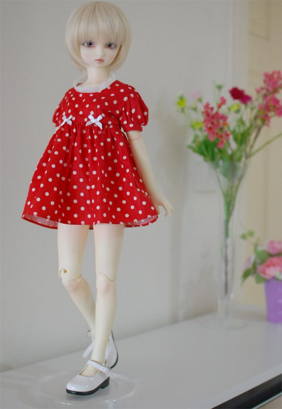 Red Dress for SD girls - LAST ONE