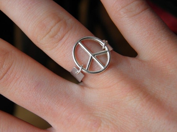 Floating Peace Ring