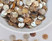 mother of pearl button 1 package  jewelry making materials.