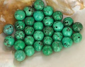 green turquoise  30 pcs  jewelry making materials.REF-237