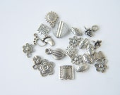 mixed 22 pcs  jewelry making materials,