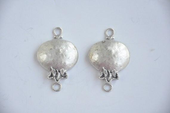 pomegranate  2 pcs   jewelry making materials. REF-600
