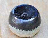 Clump-Free Salt Shakers - Handmade Stoneware- Beautiful Black Glaze