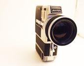 Vintage Sankyo Super 8 Camera w/Case