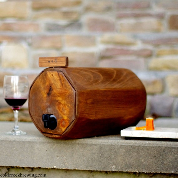 Wine Barrel - Wedding Reception - Wedding Wine Decanter- Wedding Decoration-  Wine Decanter