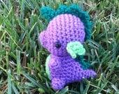 Spike My Little Pony crocheted
