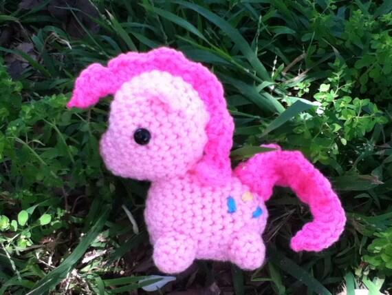 Pinkie Pie My Little Pony Crocheted plush