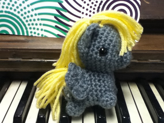 Derpy Hooves My Little Pony Crocheted Plush
