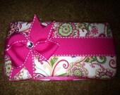 Custom Made Diaper Wipe Cases