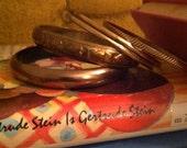Vintage bangle set