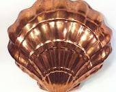 Vintage Copper Mold, Jello Mold, Cake Mold