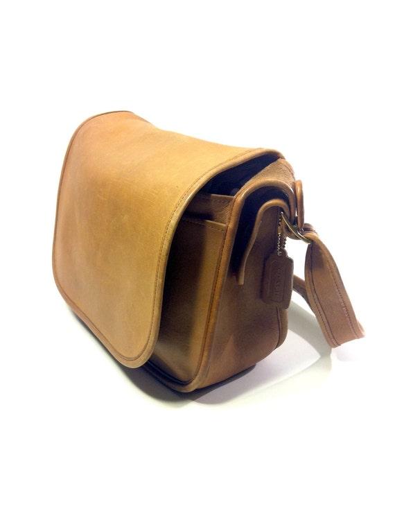 Pecan Leather COACH bag - Patricias Legacy Shoulder Purse Messenger Bag