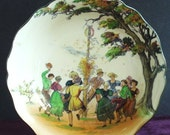 Antique Doulton Bowl MAY DAY - lasadana