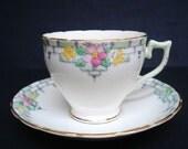Precious Wellington China Cup and Saucer Set Teacup Set Best Bone China England Hand Painted