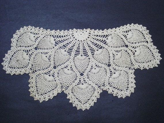 Antique Lace Dolily - Pineapple Pattern - Perfect Gift