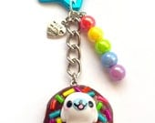 Super Cute Mamegoma Keychain San-x