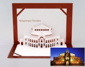 "popup card ""Semperoper Dresden"""