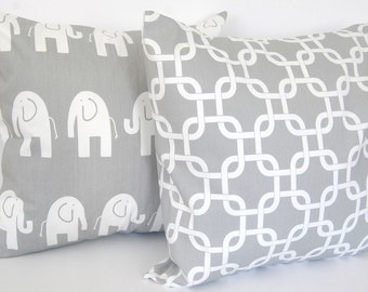 "Decorative pillow covers set of two 16"" x 16"""