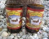 """Sierra Nevada  """"Celebration"""" Beer Glass  --Recycled / Repurposed--"""