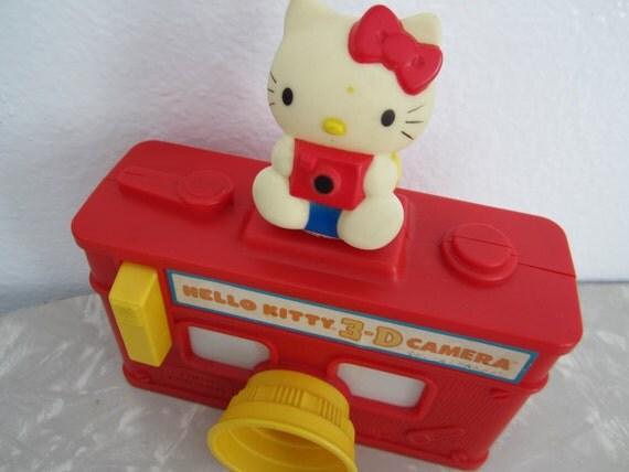 ON HOLD mochamays: Hello Kitty 3-D camera 1984 Sanrio Child Guidance