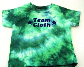 2T - Team Cloth -  Diaper Shirt - Dyed