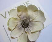 Hair Flower Clip: LDS Young Women Value -- Virtue