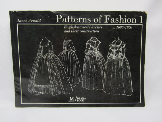 "A very well used book ""Patterns of Fashion 1"" by Janet Arnold"