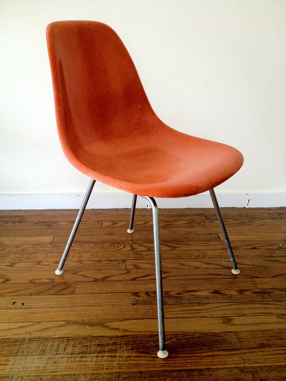 Herman miller eames shell chair with h base - Eames chair herman miller ...