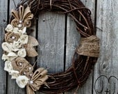 Rustic Rancher ( The original Pinterest popular wreath!)