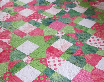 Asian-themed Twin Quilt