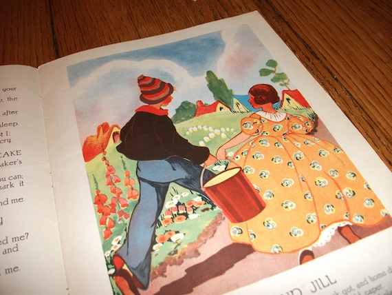 Antique, children's book with great illustrations (Reserved for Martine)