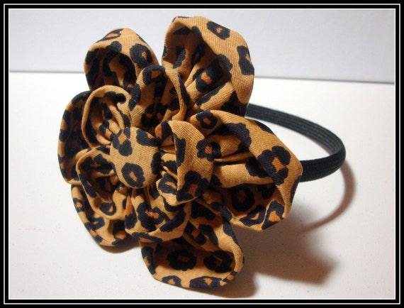 Just Fab Leopard Headband