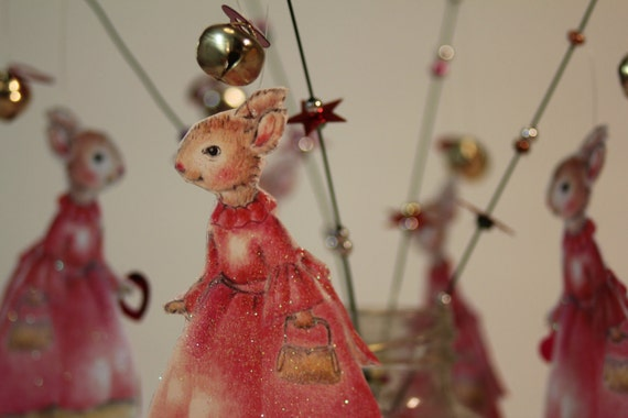 Pink bunny magic fairy wand-The Pink Lady