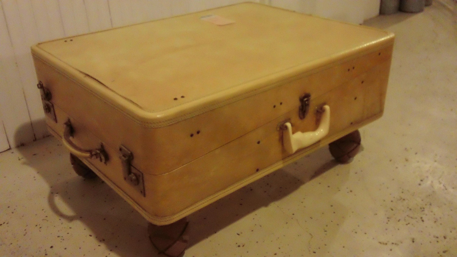 Unique Suitcase Coffee Table By Restoredtreasuresllc On Etsy
