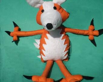 Fox soft toy pattern