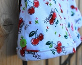 Infant/Toddler Knit Cherry Shorts with Faux Rolled Cuff