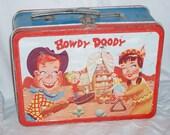 1954/1955 Howdy Doody Metal Lunch Box