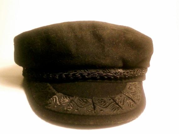 1960's Vintage Greek Fishermens Hat or Cap