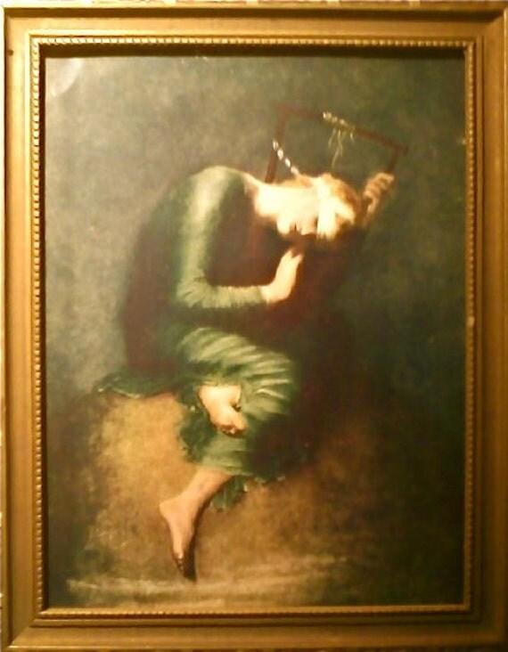 HOPE Painting by George Frederick Watts by CorvidaeCuriosity